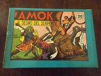 Amok Serie Completa 1/30 (collana Grandi Personaggi Ristampa Anastatica 1975 ) -  - ebay.it