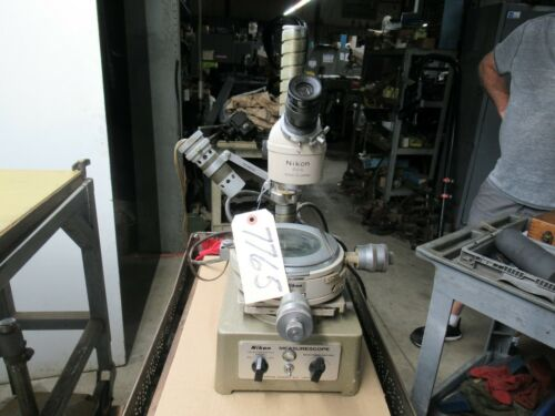 Nikon Precision Toolmakers Microscope (CTAM #7765)