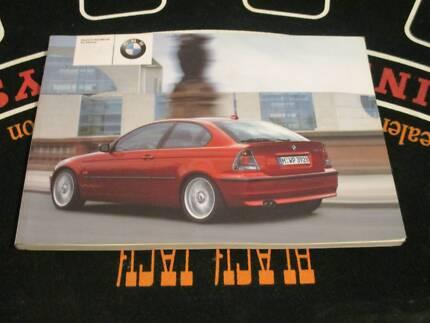 BMW 316ti 318ti 325ti 320td-FACTORY OWNERS HANDBOOK LOG BOOK. Smithfield Parramatta Area Preview