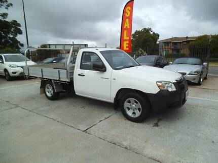 2008 MAZDA BT-50 SINGLE CAB DIESEL TRAY $10990