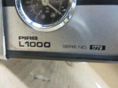 Vacuum Ventilator Piab L1000 Series 1779 W Attaching Soldering Vent Equipment