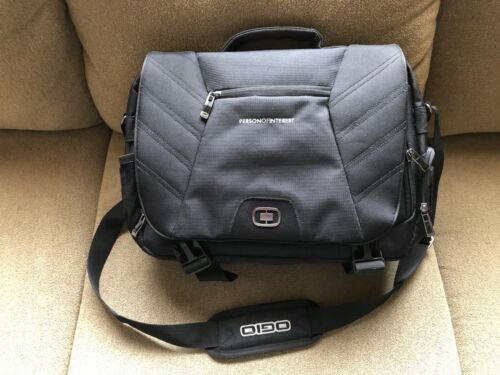 "OGIO Element Laptop Messenger Bag - ""PERSON OF INTEREST"" TV Series Crew Gift"