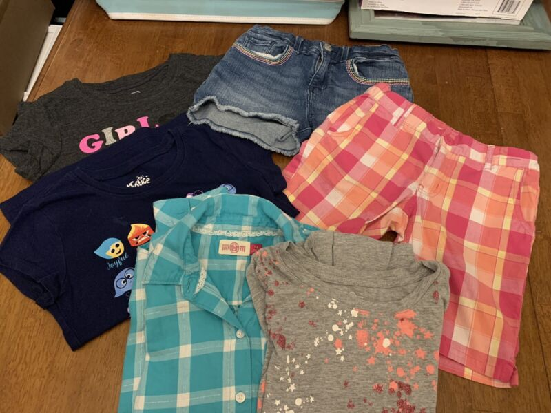 Lot Of 5 Girls Size 7/8 Assorted Clothing!