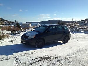 2005 Toyota Matrix Hatchback (Standard/Manual)