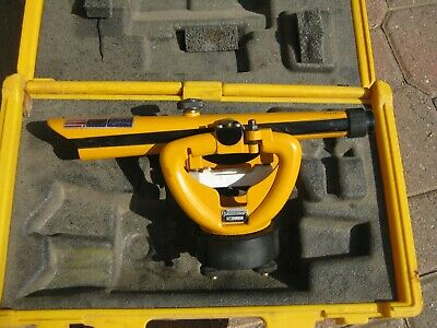 Cst Berger Instruments Transit Level Model 136 W Hard Case