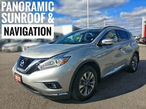 2017 Nissan Murano SV Sunroof Heated Seats  FREE Delivery