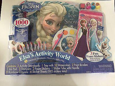 Disney FROZEN Elsa's Activity World Play Set 1,000 Fun Items Creative Play](Elsa Frozen Items)
