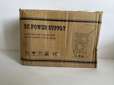 Mini Adjustable Switch Dc Power Supply Kps3010d Output 0-30v 0-10a Ac110-220v