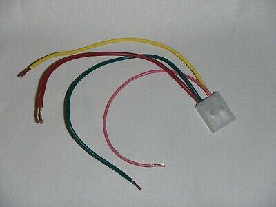 Wiring Pigtail Plug Jeco dash Clock JDM Corolla Van Wagon Celica Pickup 4 runner