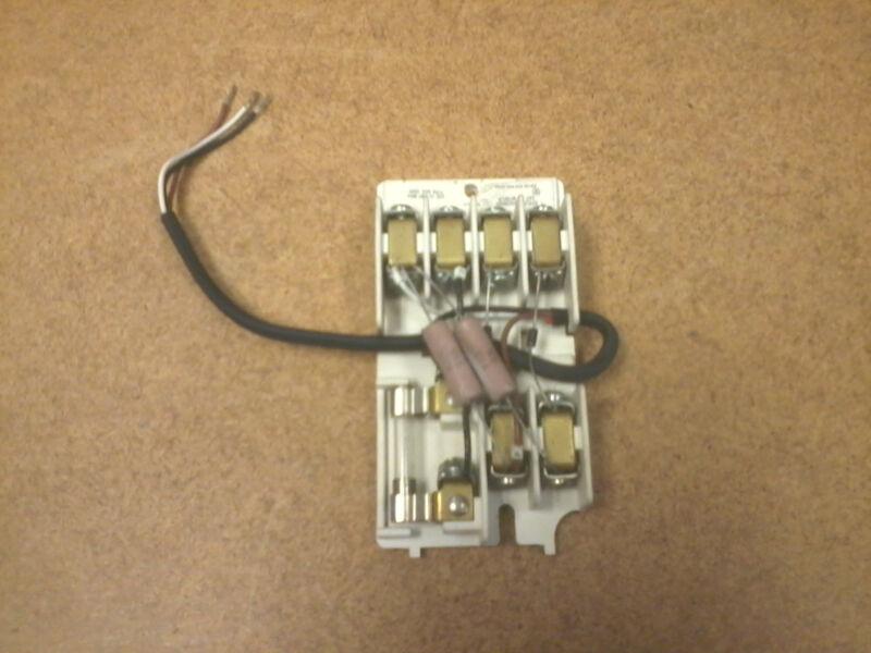 WTBFLR Westinghouse Cutler Hammer Resistor/Diode Terminal Block