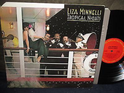 """Liza Minnelli """"Tropical Nights"""" LP"""