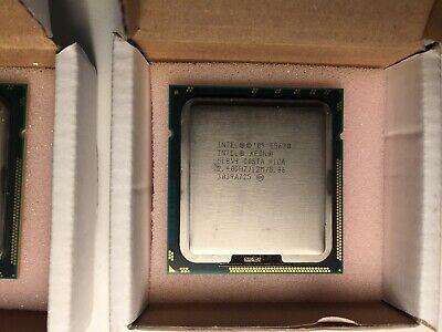 2 x CPU Intel Xeon E5628 - SLBV4 C0STA RICA - 3038B148 Server processor