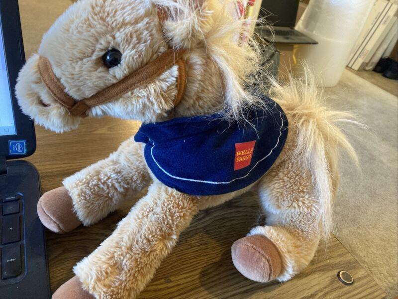 "2015 Wells Fargo Legendary Pony Horse, Nellie 14"" with Blue Blanket"