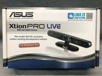 New Asus Xtion Pro Live Color Rgb 3d Motion Sensor For Developer