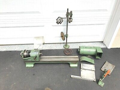 Schaublin 102 Lathe Watchmakers Jewelers From Bolivia Watch Co. Not Complete