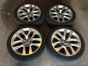 "2015 Genesis Coupe OEM 18"" Rims and Tires"