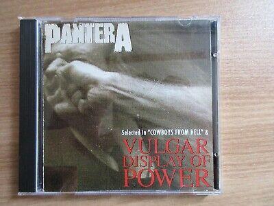 Pantera –  Vulgar Display Of Power,Selected Rare Korea Unique Orig CD 1993