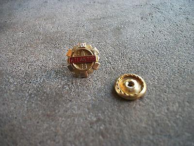 vintage Atlantic Gas oil employee award 25 yr service 10k gold pin