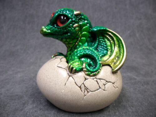 Windstone Editions NEW * Emerald Hatching Dragon * Statue Figurine Fantasy