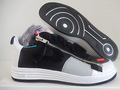 Nike Lunar Force 1 Sp   Acronym Black White Green Purple Sz 14  698699 002