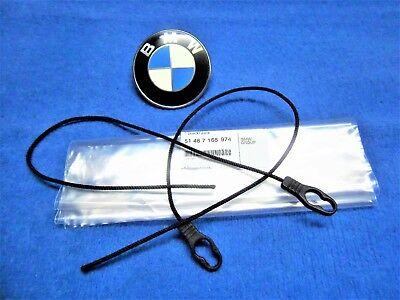 BMW e46 Compact Hutablage NEU Set Schnur Halteband Kofferraum Hanging Strap NEW