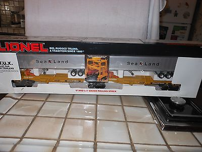 LIONEL 6-16322 SEALAND TTUX INTERMODAL CAR NIB RATED C9 FACTRY NEW NEVER OUT BOX for sale  West Sacramento