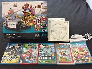 Wii U and 7 Games