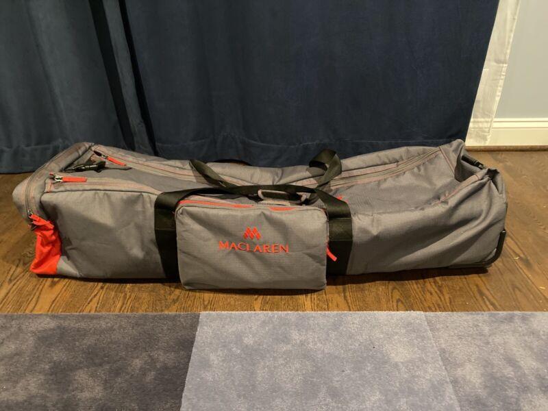 Maclaren Stroller Bag, Maclaren Buggy Locker Twin Used Twice