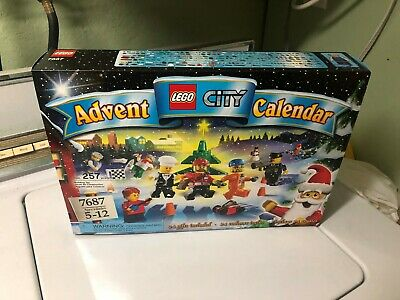 NEW LEGO 2009 CITY Advent Calendar Set 7687 Retired 24 Mini Set Christmas Gift