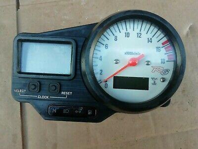 GENUINE <em>YAMAHA</em> R6 600 5EB 1999 2002 CLOCKS  INSTRUMENT CLUSTER  SPEEDO