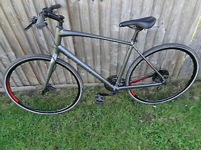 Specialized Sirrus Disc Men's Large Hybrid Charcoal Grey In Excellent Condition