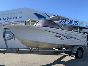 Quintrex 475 Bay Hunter - Light and Easy, Ready to be Enjoyed Now
