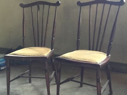 Small antique chairs - Antique Dining Chairs Antiques Gumtree Australia Brisbane North