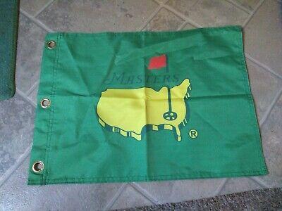 Masters Green Golf pin Flag New 13 x 18