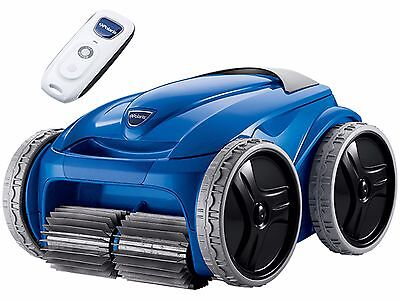 Polaris 9550 Distraction 4WD Robotic Inground Swimming Pool Cleaner w/ Caddy F9550