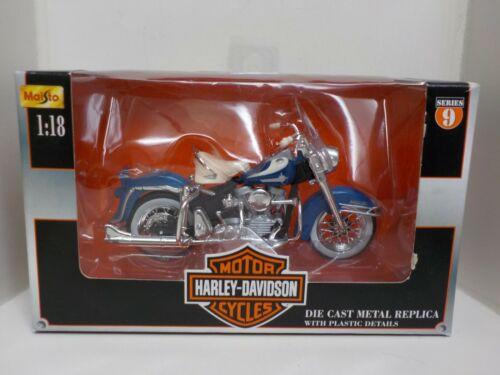1:18 Maisto Harley-Davidson 1962 FLH Duo Glide Die-Cast Seri