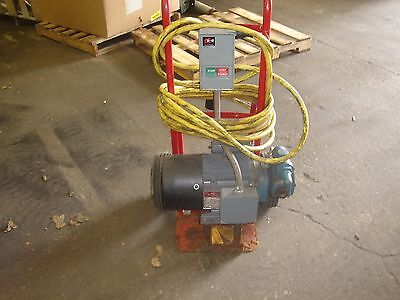 Vican Liquid Pump H90 M 1.5 Ph 1 115 230 Portable Unit