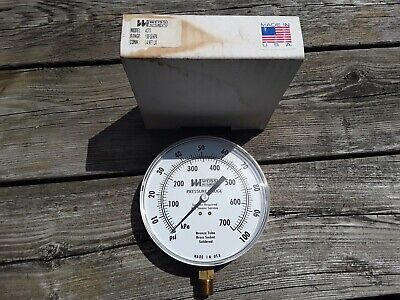 100 Psi Weiss Pressure Guage. Model 4cts .plumbing.heating Parts