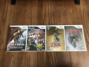 Wii and wiiU games