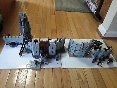 Lego Lord of the Rings Helm's Deep 9474 Uruk-Hai 9471 Complete Used Sets No Box