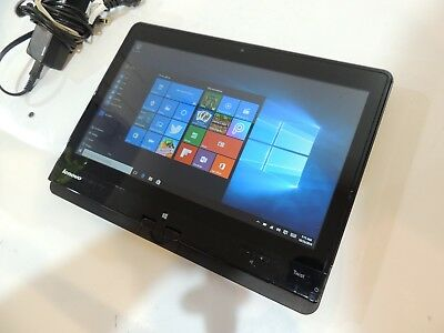 Lenovo Twist S230u 12.5 Touchscreen tablet laptop  CORe i3 4GB RAM Windows 10