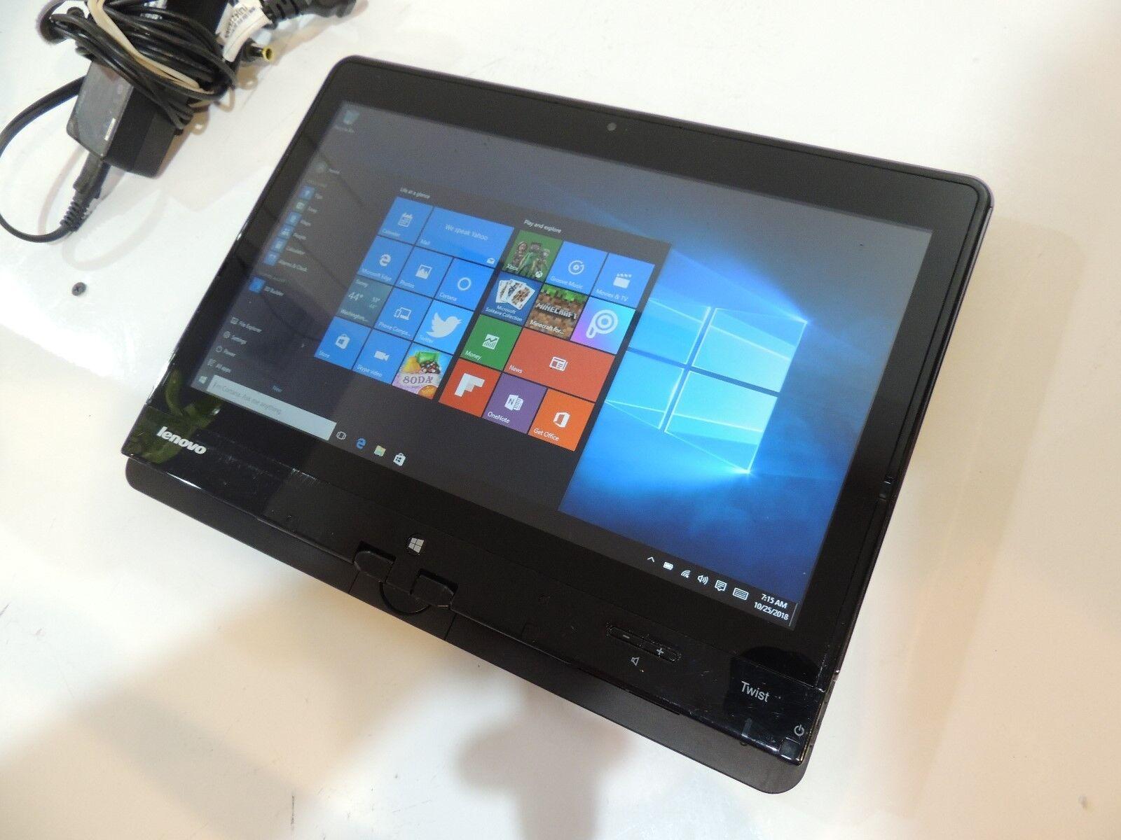 Laptop Windows - Lenovo Twist S230u 12.5 Touchscreen tablet laptop  CORe i3 4GB RAM Windows 10