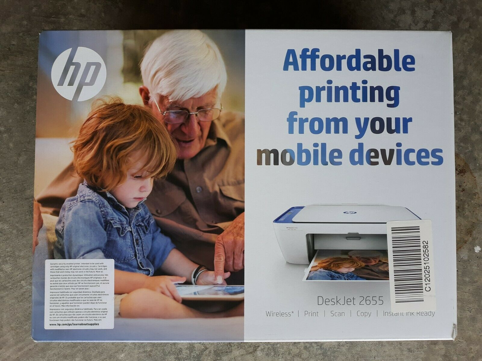 Best Small All-in-One Wireless Printer HP Compact Blue DeskJ
