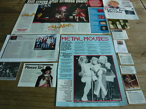 SLADE - MAGAZINE CUTTINGS COLLECTION (REF 3)