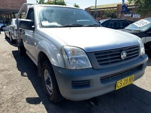 2006 HOLDEN RODEO RA DX CAB CHASSIS MANUAL 4cyl