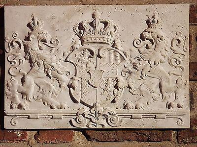 Beton XXL Bayern-Wappen Bavaria-Sigillum Königreich Bayern  Steinguss XXL 6,7 Kg