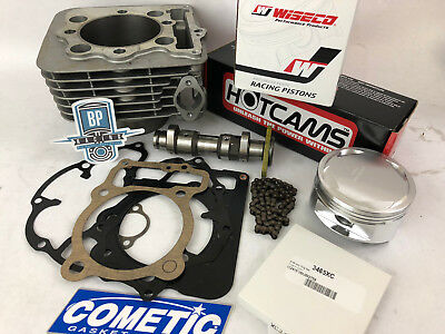 XR400 XR 400 TRX 400X 88m 426 Big Bore Cylinder Wiseco 10:1 Hotcam Stage 2 Kit