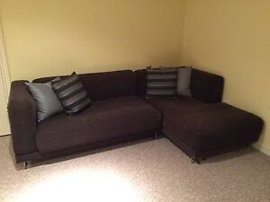 IKEA Couch with left-hand chaise