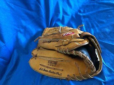 21735 Rawlings 12.5 Zoll Baseball Handschuh RBG36 Links