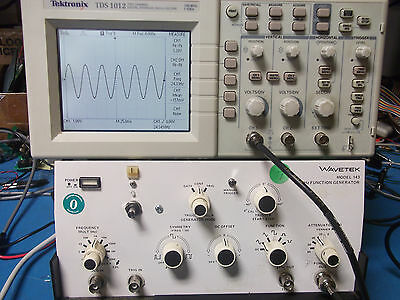 Wavetek 143 20mhz Function Generator Works As-is Free Shipping